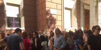 Liceo Classico Pescara la protesta