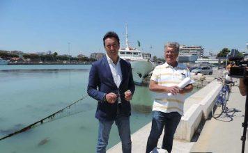 Pescara sversamenti e campionamenti del mare