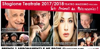Stagione Teatrale 2017-2018 Baltimore Production