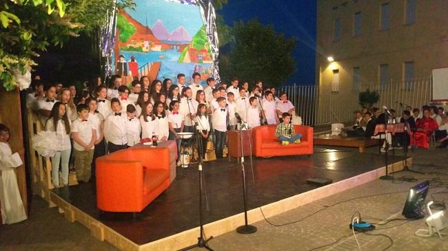 alunni di Paglieta e Torino di Sangro con un musical sui Promessi Sposi