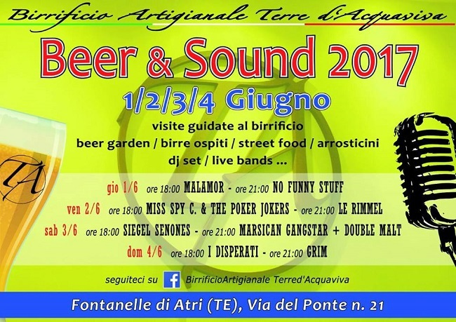 beer and sound 2017