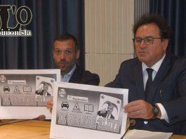 conferenza stampa forza italia su macchina regionale