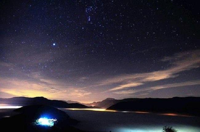 escursione astronomica dal rifugio casale da monte