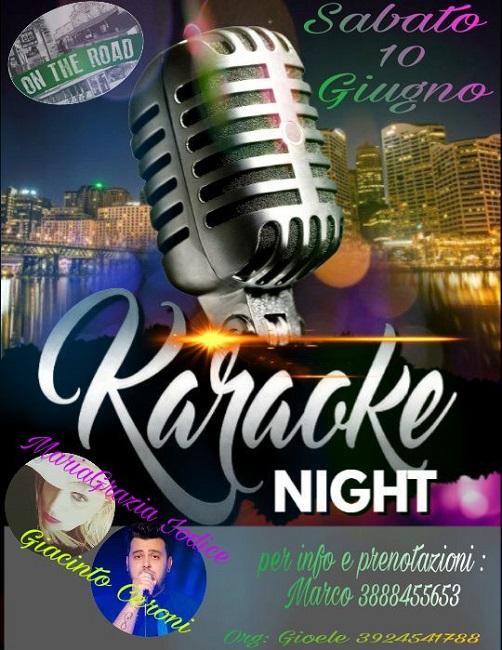 karaoke e dance on the road 10 giugno