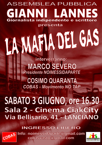 locandina La mafia del gas