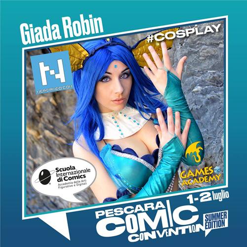 prima edizione di Pescara Comic Convention