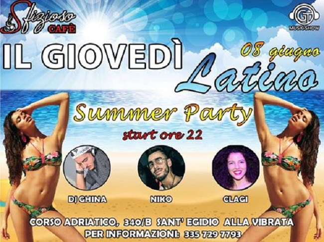 summer party sfizioso cafe