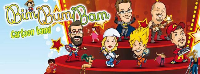 Bim Bum Bam Cartoon Band