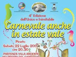Carnevale estivo 2017 Pineto