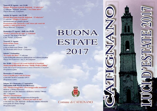 Catignano Estate 2017
