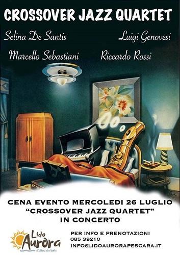 Cena Concerto Crossover Jazz Quartet