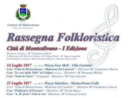 Manifesto I rassegna folkloristica