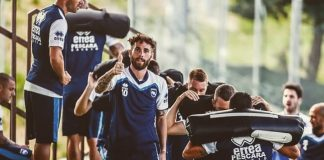 Pescara calcio, quinto giorno ritiro