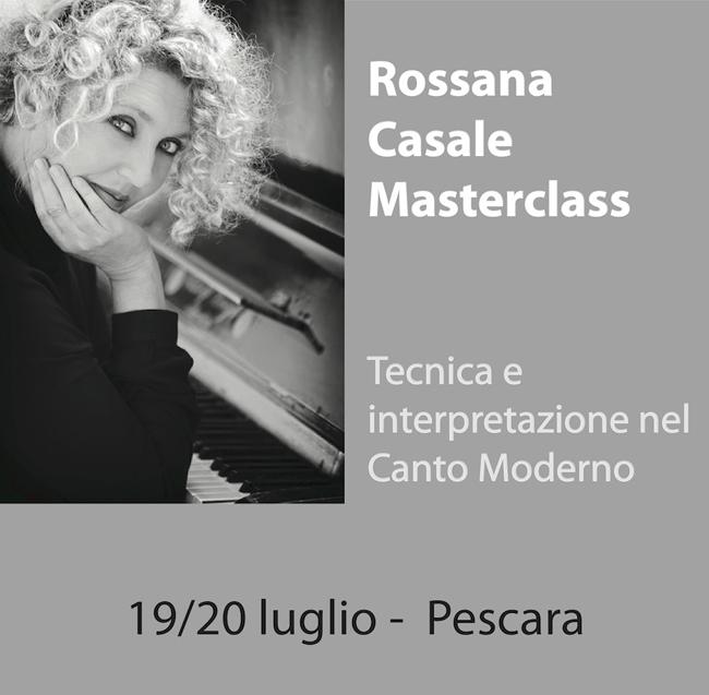Rossana Casale incontra i futuri professionisti del canto