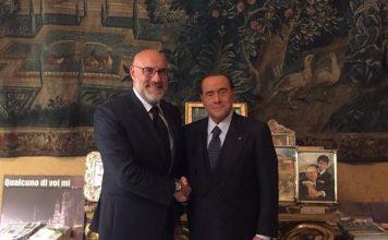 Sindaco Di Primio e Presidente Berlusconi