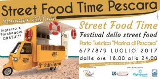 Street Food Time Luglio 2017 Pescara