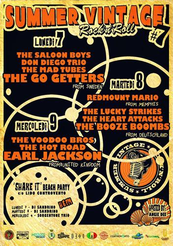 Summer Vintage Rock'n'Roll Festival locandina