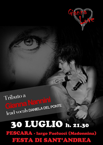 Tributo a Gianna Nannini by Gianna Love band 30 luglio 2017