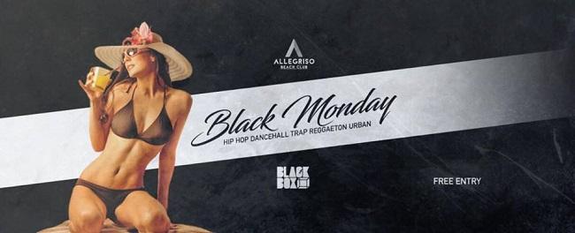 black monday allegriso beach club