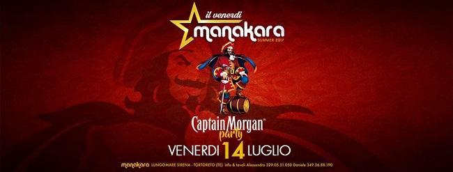 captain morgan party manakara