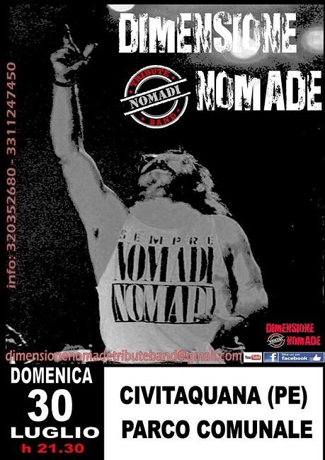 dimensione nomade live 30 luglio