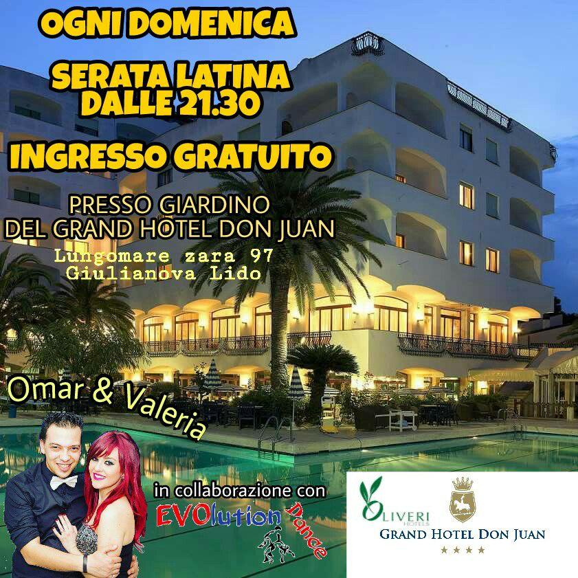 domenica latina al grand hotel don juan