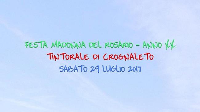 festa Madonna del Rosario a Crognaleto