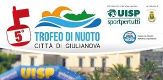 locandina 5° Trofeo di nuoto Città di Giulianova