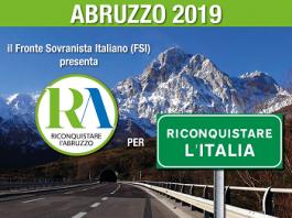 manifesto Riconquistare l'Abruzzo
