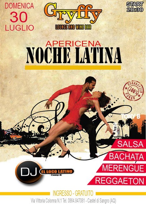 noche latina griffy