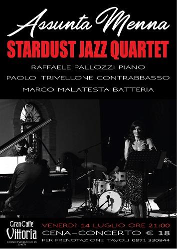 stardust jazz quartet 14 luglio 2017