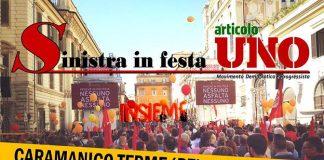 5 e 6 agosto a Caramanico Terme la festa di Articolo Uno