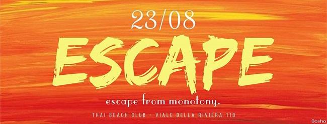 Escape 23 agosto 2017