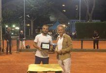 Il vincitore Giuseppe Fischetti