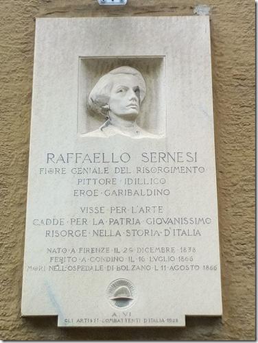 Lapide commemorativa a Bolzano