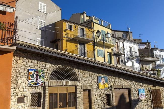 Mosaici a Tornareccio