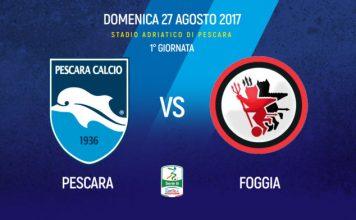 Serie B, verso Pescara-Foggia: Curva Sud ai tifosi rossoneri