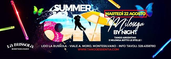 Tango Argentino 22 agosto 2017 a La Bussola Montesilvano