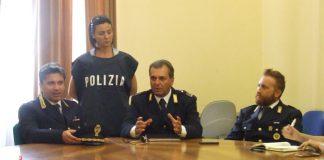 conferenza arresti per rapina
