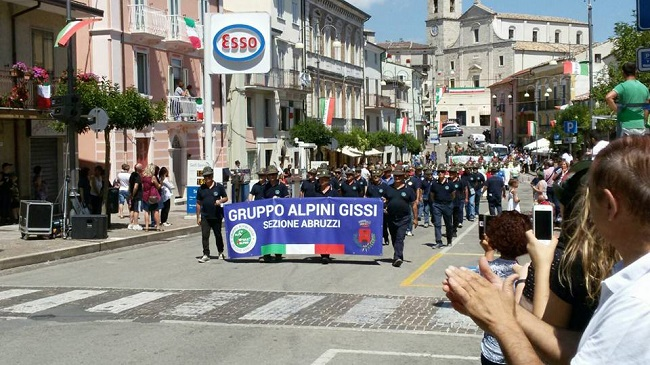 foto Gruppo alpini Gissi