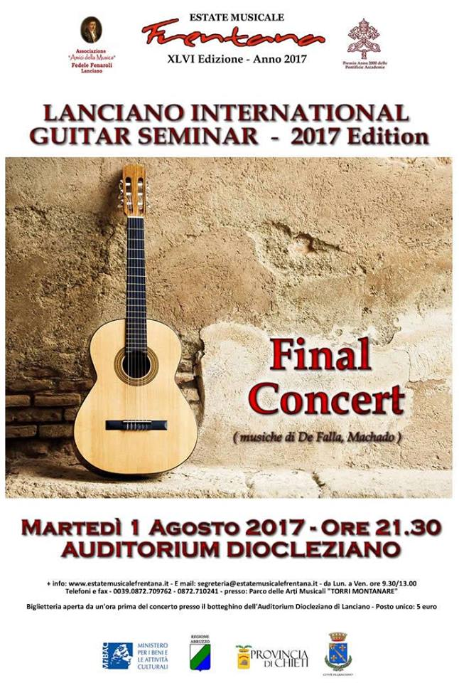 lanciano internationa guitar seminar