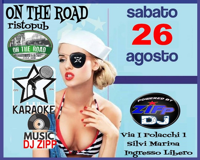 on the road 26 agosto