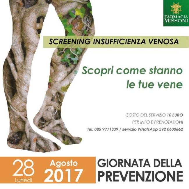 screening insufficienza venosa