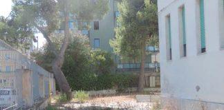 Foto area esterna piazza Grue lavori Liceo Scientifico Da Vinci