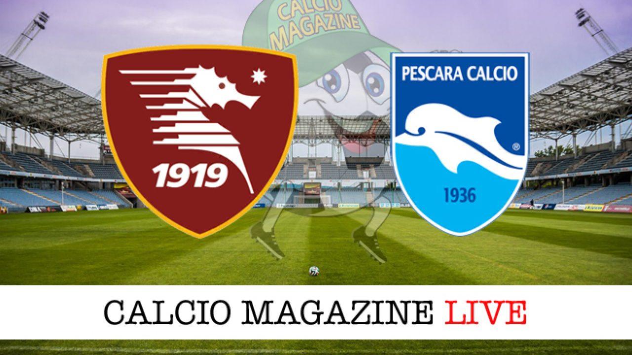 Salernitana Pescara : Serie B Benevento Pisa Finisce 1 1 ...