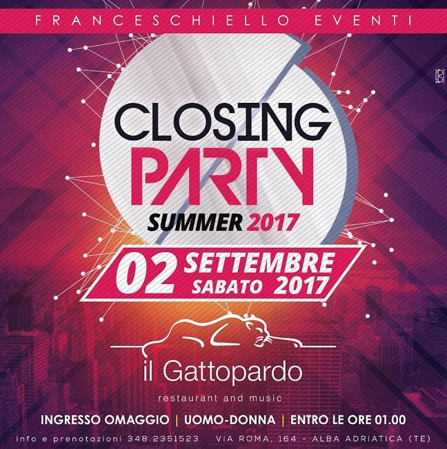 closing party villa gattopardo