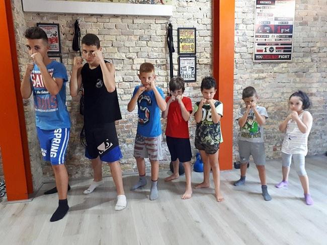 corsi kickboxing kids