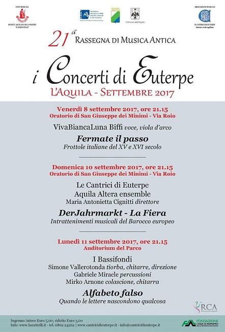 i concerti di Euterpe