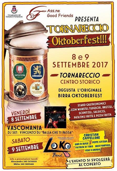 oktoberfest tornareccio 2017