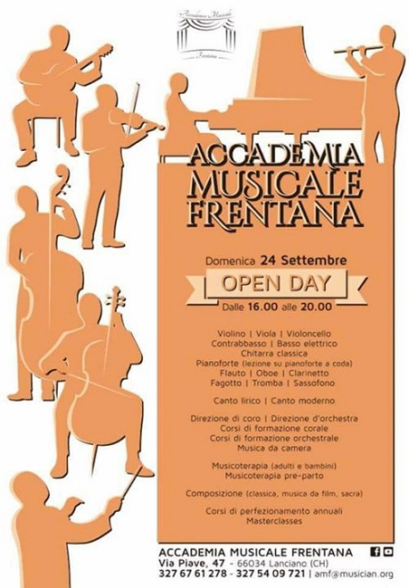 open day accademia musicale frentana